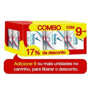 Sabonete em Barra Rexona Antibacteriano Fresh Com 84g - R$1