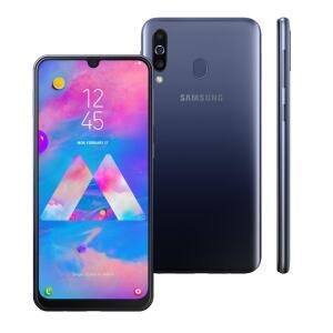 Smartphone Samsung Galaxy M30 Azul 64GB - R$879