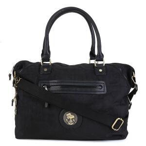 Bolsa Snoopy Tote Bag Grande Feminina - Preto | R$89