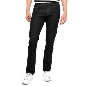 (4 Unidades) Calça Jeans Masculina Básica - Preston - Preto - 44