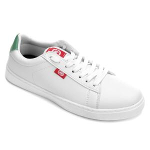 Tênis Ecko Court Masculino - Branco e Verde R$60