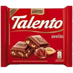 [Loja Física Assaí] Chocolate Talento Avelã e Castanha do Pará 90gr R$3