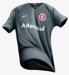 Camisa Internacional III Nike - Cinza (Tam. P e M)