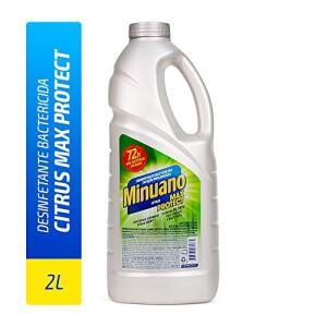 Desinfetante Minuano Maxprotect Citrus 2L, Minuano