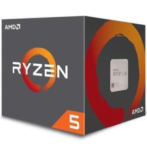 Processador AMD Ryzen 5 2600, Cooler Wraith Stealth, Cache 19MB + Antivírus