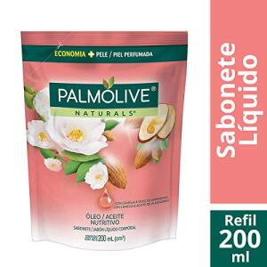Sabonete Líquido Palmolive Naturals Óleo Nutritivo 200ml Refil - R$4