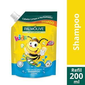Shampoo Palmolive Naturals Kids Todo Tipo de Cabelo 200ml Refil - R$6