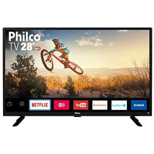 "TV Monitor Smart LED 28"" HD Philco PTV28G50SN - R$559"