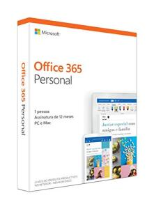 Office 365 Personal (1 ano de licença)
