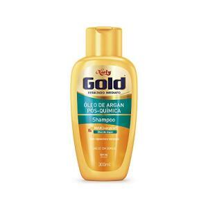 Shampoo Óleo de Argan Pós Química, 300 ml, Niely Gold