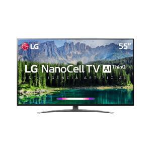 "Smart TV LED 55"" LG SM8600 NanoCell 4K R$ 2779"