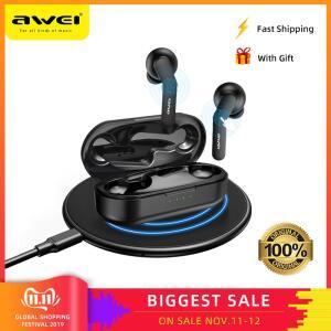 [1º Compra] Awei T10C Fone Bluetooth 5.0 Cancelamento de Ruído / Carregamento s/ fio | R$67