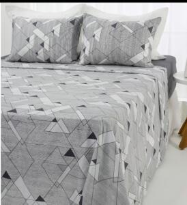 Jogo de cama casal microfibra - R$36