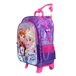 [PRIME] Mala Escolar G com Rodinhas Disney Frozen, 41 x 30 x 14, Dermiwil 51981, Multicor
