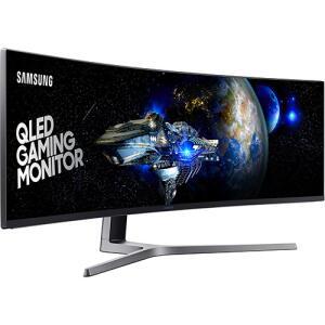 """[AME R$5279,99] Samsung LC49HG90DMLXZD (QLED FHD 49"""", 1ms 144hz, Curvo Ultra-wide 32:9)"""