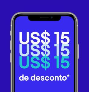 (Pelo APP) US$ 15 off acima de US$ 75 no Ebay
