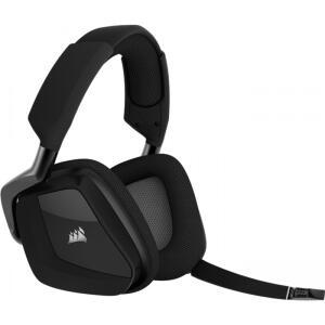 Headset Gamer Corsair Void Pro RGB, Dolby 7.1, Wireless, Black