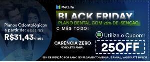 Plano Odontológico MetLife   25% Off