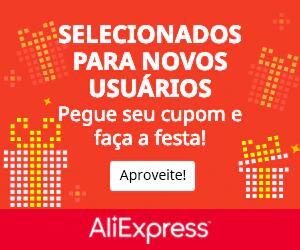 Cupons de Novos Usuários no Aliexpress