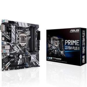 Placa-Mãe Asus Prime Z370M-Plus II, Intel LGA 1151, mATX, DDR4