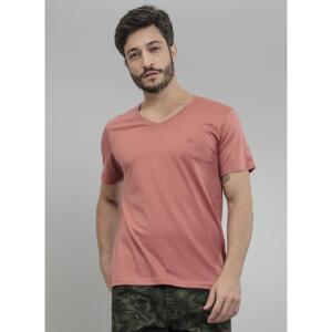 Camiseta Masculina Básica Gola V Comfort Fit (Volta 30% AME, fica por 10 conto)