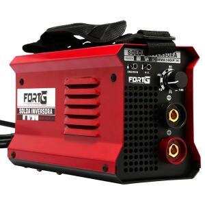 Máquina de Solda Inversora MMA140iP 140A Compacta - R$240