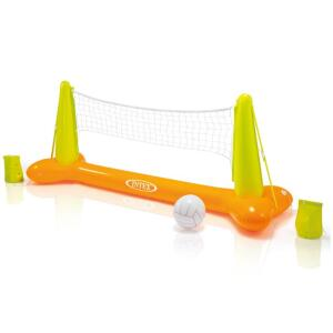 Kit Voleibol Inflável para Piscina Colorido Intex