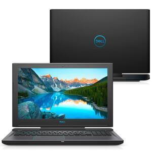 Notebook Gamer Dell G7 NVIDIA GeForce GTX 1050Ti Core i7-8750H 8GB 1TB+128GB SSD - R$4.599