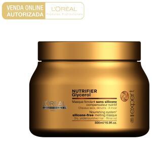 Máscara de Tratamento L'Oréal Professionnel Nutrifier Glycerol 500g | R$99