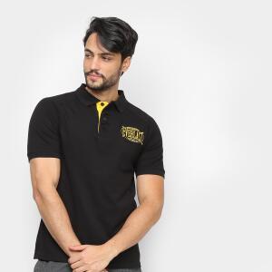 Camisa Polo Everlast Masculina - Preto   R$40