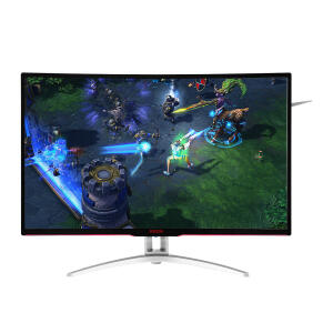 "Monitor Gamer AOC 31.5"" LED Full HD 144Hz 4Ms Widescreen Agon AG322FCX | R$1.439"
