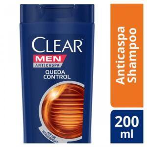 Shampoo Anticaspa CLEAR Men Queda Control 200ml R$ 8.50