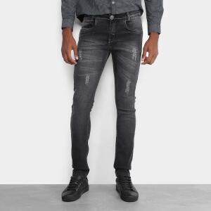 Calça Jeans Skinny Opera Rock Estonada Masculina | R$130