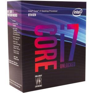 Processador Intel Core i7-8700K Coffee Lake, Cache 12MB, 3.7GHz (4.7GHz Max Turbo), LGA 1151 - R$1300