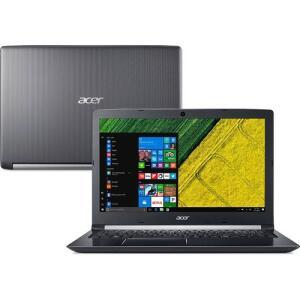 "[R$2.386 AME+CC Americanas] Notebook A515-51G-71CN Core I7 8GB (Geforce 940MX) 2TB 15,6"" Acer | R$2.982"