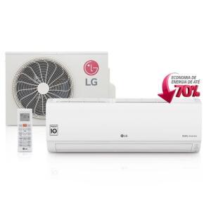 [CC Shoptime] Ar Condicionado Split LG Dual Inverter 9.000 BTU/h Frio | R$1.384