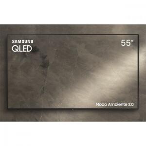 "(R$2.431 AME) Smart TV QLED 55"" Samsung Q60 Ultra HD 4K   R$3040"