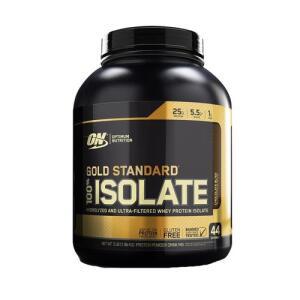 [CC SUB+AME R$142] Gold Standard 100% Isolate (2,91lb) - Chocolate - Optimum Nutrition R$202