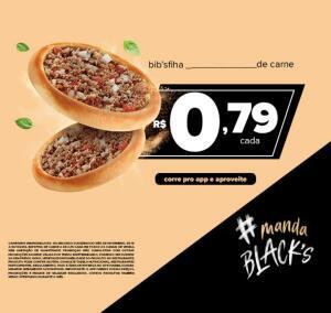 Bib'sfiha de Carne por R$0,79