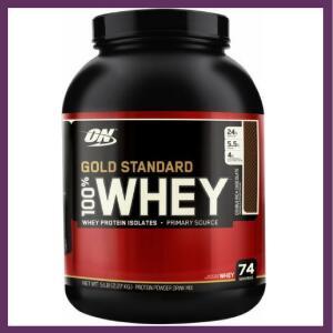 [App] 100% whey protein gold standard (909G) optimum nutrition | R$90