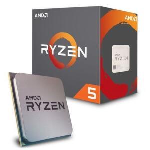 Processador AMD Ryzen 5 2600X c/ Wraith Spire Cooler (AM4 - 6 núcleos 3.6GHz) - YD260XBCAFBOX R$760