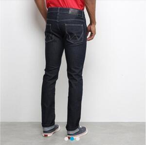 Calça jeans slim Wrangler Clássica Masculina R$75