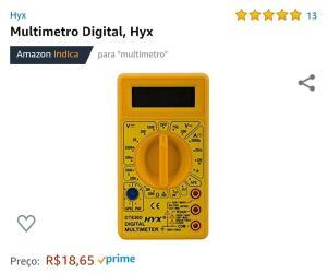 Multímetro Digital Hyx - Prime