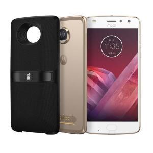 Smartphone Motorola Moto Z2 Play New SoundBoost 2 Ouro 64GB | R$967