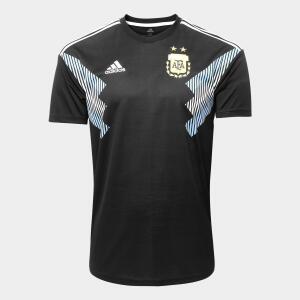 Camiseta seleção argentina Preta Adidas