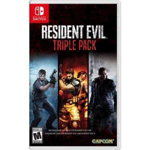 [1ª Compra] Resident Evil Triple Pack 4/5/6 - Nintendo Switch