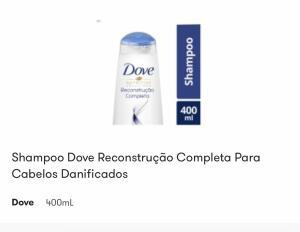 [APP] Shampoo Dove reconstrução Completa 400ml