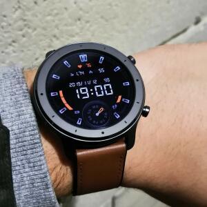 [R$572 AME] Amazfit Gtr Amoled 47mm Relógio Inteligente Gps + 12 Modos Esportivos | R$807