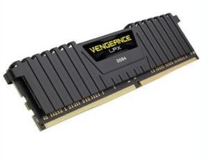 Memória Corsair Vengeance LPX 16GB 2400Mhz DDR4 CL14 Black - CMK16GX4M1A2400C14
