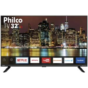 "(APP) [R$649 AME] Smart TV LED 32"" Philco PTV32G60SNBL HD | R$764"